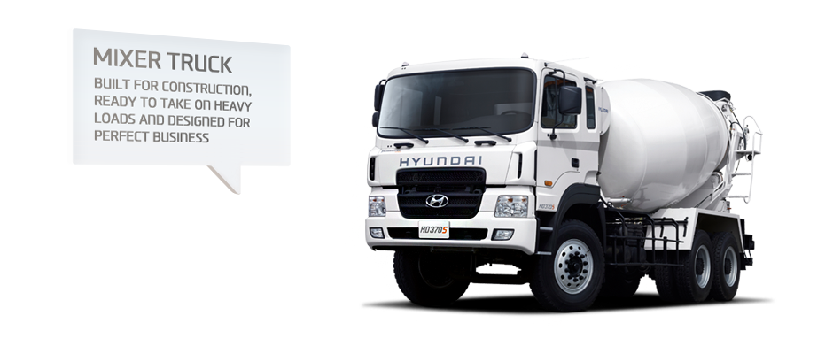 Mixer Truck. Built for construction, Ready to take on heavy loads and Designed for perfect business
